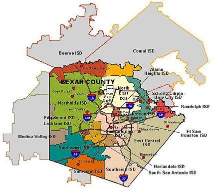 San Antonio Texas School Districts